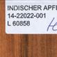 Abb.: D2343 - Teak Cognac